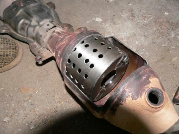Catalyst vs. Flame arrester — Photo № 2 | AutoCatalyst Market
