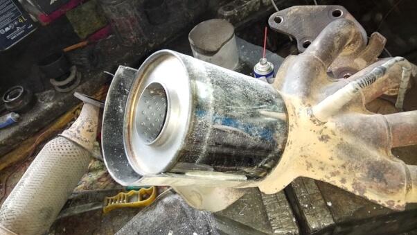 Catalyst vs. Flame arrester — Photo № 4 | AutoCatalyst Market