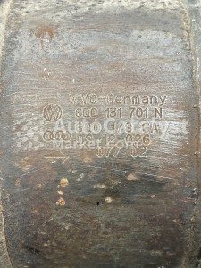 Катализатор 6Q0131701N — Фото № 2 | AutoCatalyst Market