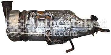 Catalyst converter TR PSA K685 (CERAMIC+DPF) — Photo № 1 | AutoCatalyst Market
