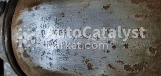 Catalyst converter 4D0131701AT — Photo № 1 | AutoCatalyst Market