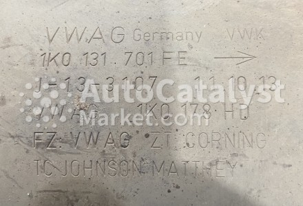 Catalyst converter 1K0131701FE — Photo № 2   AutoCatalyst Market