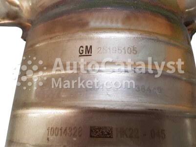 Catalyst converter 25195105 — Photo № 1 | AutoCatalyst Market