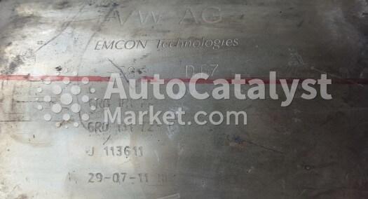 Catalyst converter 6R0181AA  6R0131723G — Photo № 1   AutoCatalyst Market