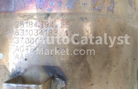 25184394 (CERAMIC+DPF) — Photo № 1 | AutoCatalyst Market