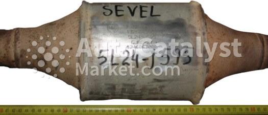 Catalyst converter 5L24-J595 — Photo № 2   AutoCatalyst Market