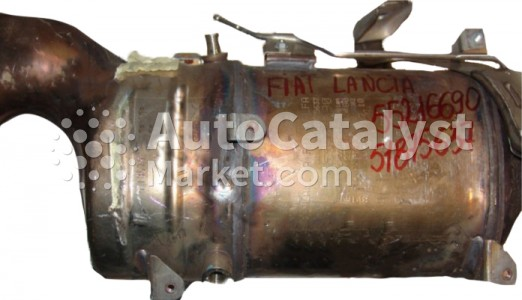 Catalyst converter 55216690 (CERAMIC + DPF) — Photo № 1 | AutoCatalyst Market