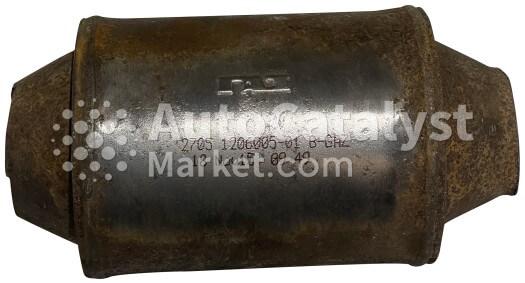 Catalyst converter 2705  1206005-01 / B-GHZ — Photo № 1 | AutoCatalyst Market